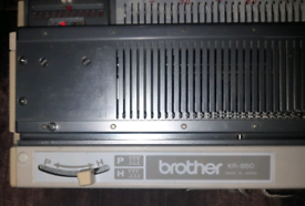 Brother knitting machine parts £100