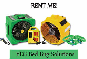 Kill bed bugs with heat affordably with heater rental $70