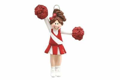 Cheerleader Personalized Christmas Ornament RM774-RB ()
