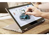 Inspiron 7359 I7 laptop 2 in 1 convertible into tablet mode latest gen 6500 cpu and 256gb ssd drive