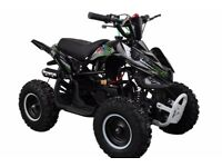 50cc mini quad bikes brand new with warranty in red, blue, green or pink! Ride on petrol quad 49cc