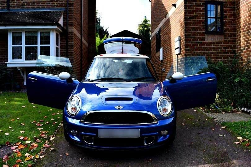 2012 Mini Cooper S Union Jack Roof Decal 2 Owners Full Service