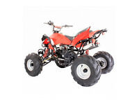 INTERCEPTOR 125CC QUAD BIKE 4-STROKE AUTOMATIC WITH REVERSE & LIGHTS. WHY BUY USED, NEW FOR £565