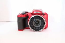 Fujifilm FinePix S8650 16MP Digital Bridge Fuji Camera - RED