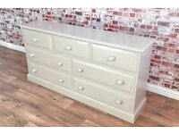 Large Chest of Drawers / Bedroom Dresser - Bespoke Sizing - Any Farrow & Ball Colour!