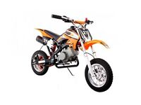 Mini Moto Pocket Rocket Scrambler 49cc Mini Dirt Devil Orange