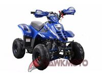 kids quad bike 110cc automatic with reverse, fully restrictable down to 5mph