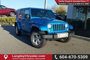2015 Jeep Wrangler Unlimited Sahara *ACCIDENT FREE*