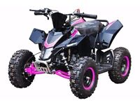 BRAND NEW FOR HAWKMOTO SX-49 KIDS 50cc RACING QUAD ALL COLOURS IGNITION & PULL START'
