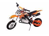 Pocket Rocket Scrambler 49cc - (MINI DIRT DEVIL) Orange MOTOR BIKE