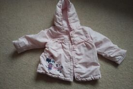 Baby girls Disney coat 6-9months