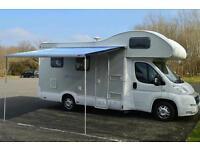 Motorhome hire / rent cambridgeshire 6 berth
