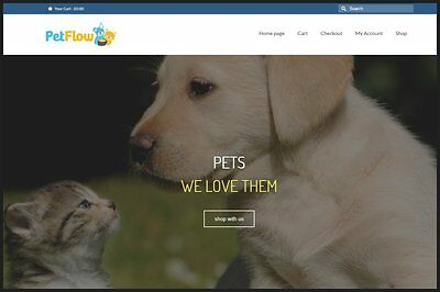 Pet Supplies Website Earn 362.16 A Salefree Domainfree Hostingfree Traffic