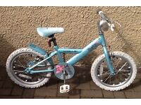 "Bike/Bicycle.GIRLS APOLLO "" SPARKLE "" BICYCLE. SUIT 4-7 YEARS"