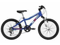 "(2729) 20"" Lightweight Aluminium RIDGEBACK BOYS GIRLS MOUNTAIN BIKE BICYCLE; Age: 6-9, 120-135 cm"