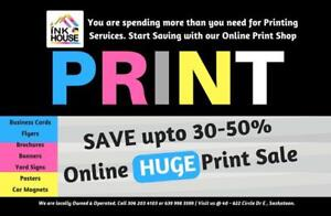 Online Printing Service: Top Quality Printing @ Wholesale Prices! Business Cards, Flyers, PostCards, Brochures & More..