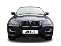 Personalise number plate