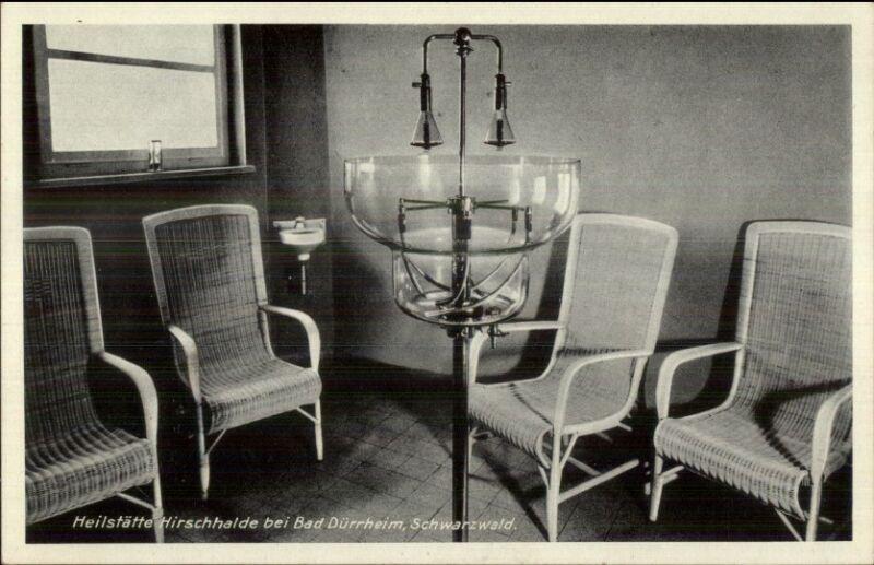 Bad Durrheim Germany Medical Equipment - Inhalation Device Oxygen? Postcard