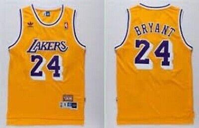 KOBE CAMISETA DE LA NBA DE LOS LAKERS 24 RETRO.TALLA M,L,XL,2XL.
