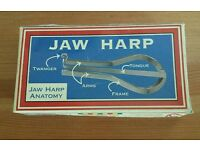 New Jaw Harp In Box