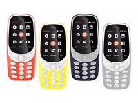Nokia 3310 (2017) Mobile Phone - Cheapest to be found - Unlocked - Dual Sim - Brand New - £30