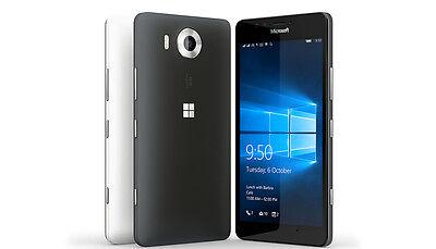 Nokia Microsoft Lumia 950 GSM Unlocked AT&T 6017A 32GB Black 4G LTE