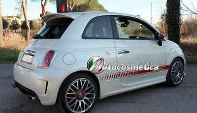 SPOILER ALETTONE posteriore mdello Abart Fiat 500 pronta consegna colore neutro