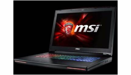 MSI GT72 Dominator with GTX980m gaming laptop