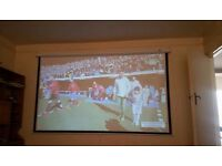 "120"" ABIS PROJECTION SCREEN"