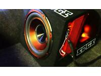 "Edge 12"" 900w subwoofer with built in amp"