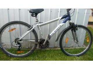 Merida ALU mountain bike frame and spares.
