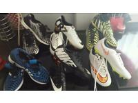 Like new **Astro, trainers and football boots