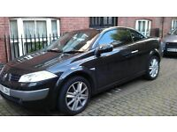 Renault Megane Convertable/1.9/Tinted/6 Gears/White Interior Lights £2,750
