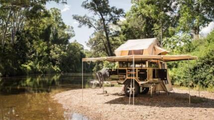 Austrack Campers SIMPSON Roof Top Tent Camper Trailer