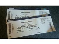Dreamboys tickets Newcastle 12/8/16