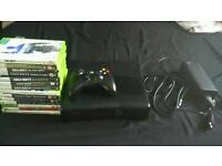 Xbox 360 slim 20gb with 14 games, call of duty etc