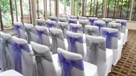 Chair Cover Hire / Centrepieces - Weddings / Parties / Events