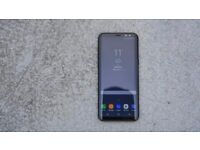 Samsung S8+ - Orchid Grey - Unlocked - Like New