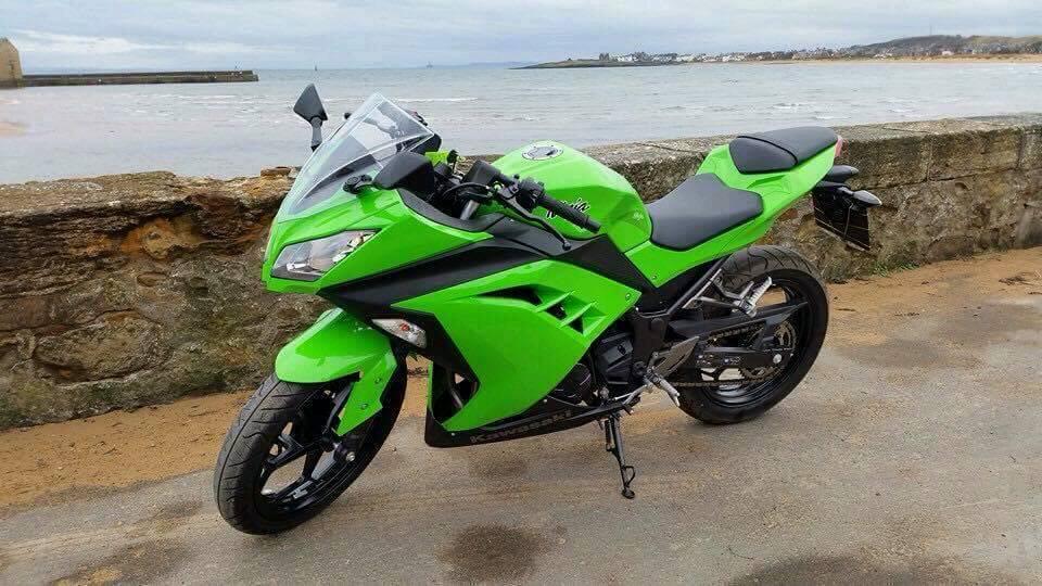 Kawasaki Ninja 300 Green идеи изображения мотоцикла