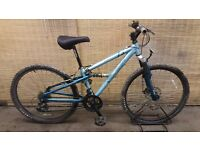 Ladies mountain bike APOLLO FS26S Frame 14""