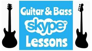 Skype Guitar and Bass Lessons ($25.00 Special, Dec Only!!!) Robina Gold Coast South Preview