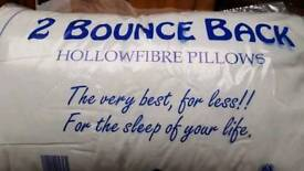Buy 4 quality bounce back pillows for 19.99 and get another 4 free!
