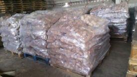 Bags and Pallets Briquettes