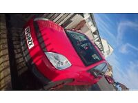 CAT C Ford Fiesta 2003 1.3 5 doors red