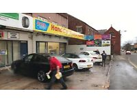 Main Road Location Hand Car Wash Business For Sale - 2 Bed Flat Included - Huge Growth Potential