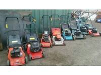 Lawnmower sales, servicing and repairs