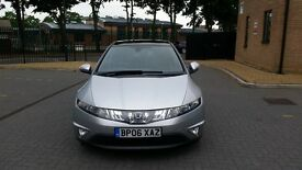 HONDA CIVIC 1 FORMER OWNER FROM NEW GLASS PANOROMIC ROOF CRUISE CONTROL ICE COLD AIR CON