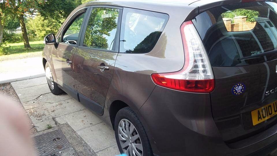 Renault Scenic 2010, 7 Seats, 1.5 Turbo Diesel 91k Miles