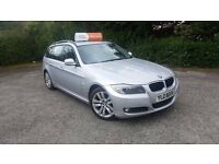 BMW 320 Diesel Touring 2009, Facelift Lci Model, Lady Owner, Silver, New Tyres, Towbar.