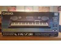 CASIO CTK-731 ELECTRONIC KEYBOARD